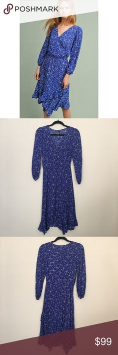 0eb26cfef60a NWOT Anthropologie Tracy Reese blue dress New without tags, never worn, no  flaws.