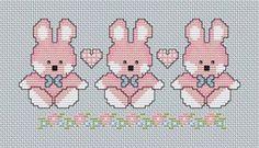 Cross Stitch PDF Downloadable Chart Baby Girl di Annieinstitches                                                                                                                                                                                 More