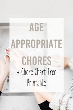 Put together a simple chore system with this free chore chart printable. Assign chores by the ultimate list of age appropriate chores in this post. Ages included from 2 all the way to teens. Perfect for all families! via @homebyjenn Routine Printable, Printable Chore Chart, Free Printables, Parenting Books, Kids And Parenting, Parenting Tips, Peaceful Parenting, Gentle Parenting, Toddler Chores