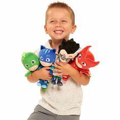$14.67 - Cool Wow!! 20cm Kids Favorite PJ Cartoon Catboy Owlette Gekko Cloak Masks Plush Toy Best Gift For Children Birthday Gifts - Buy it Now!