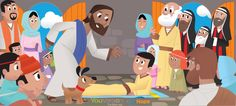 The Bible App for Kids, by YouVersion. Clean, fun, very clever and interactive--and FREE. Jesus heals the paralytic Bible Stories For Kids, Bible For Kids, Free Bible, Bible App, Children's Bible, Bible Verses, Christian Apps, Bible Study Lessons, Jesus Heals