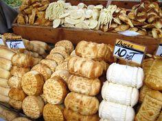 Slovak cheeses, Zakopane, Poland