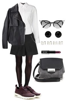 """Street."" by monsteryay ❤ liked on Polyvore featuring SPANX, Alexander Wang, NIKE, Lord & Berry, Fendi, Givenchy and Maison Margiela"