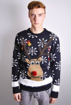 31abc8f445 How to find the best cheap mens Christmas jumpers mens christmas jumpers  mens novelty rudolph christmas