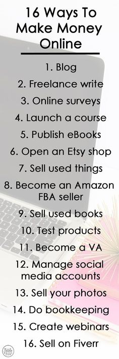10 ways to make money without a job business budgeting and hustle fandeluxe Images
