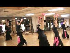 Ballroom fitness class