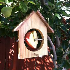 Bird feeder... another idea to use scrap wood