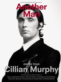 Another Man A/W15 is here! Starring Cillian Murphy, shot by Willy Vanderperre and styled by Alister Mackie. See more here: http://www.anothermag.com/fashion-beauty/7818/another-man-a-w15-grand-tour