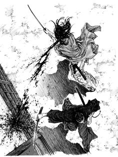 Samurai Vagabond #samurai #japan #fumetti
