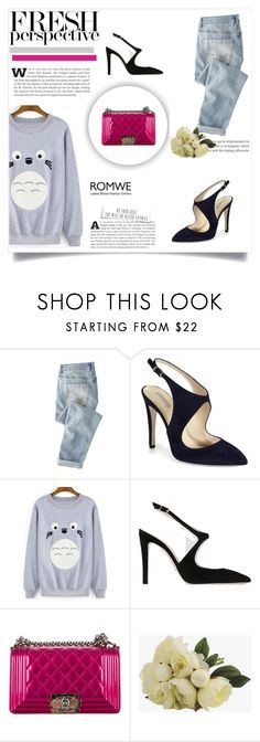 """Sem título #866"" by railda-pereira ❤ liked on Polyvore featuring Wrap, Giorgio Armani and Chanel"