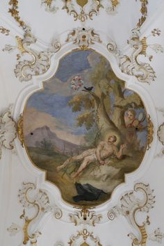 Category:Baroque frescos in Andechs Abbey Wikimedia Commons, Fresco, Baroque, Vintage World Maps, Saints, Painting, Art, Germany, Art Background