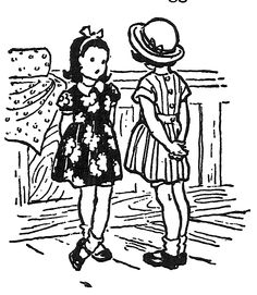 Milly Molly Mandy by Joyce L Brisley Science Illustration, Children's Book Illustration, Illustrations, Milly And Molly, Diary Covers, Bedroom Art, Colouring Pages, Vintage Children, Vintage Postcards