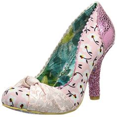 Irregular Choice Smartie Pants Pink Floral Womens Court Shoes-37 - http://on-line-kaufen.de/irregular-choice/37-eu-4-uk-6-us-irregular-choice-smartie-pants-rosa