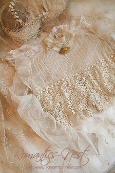 Beautiful Edwardian lace blouse