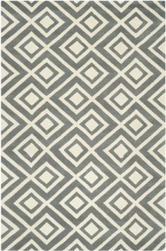 Safavieh CHT742D Chatham Collection Wool Handmade Area Rug, 8-Feet by 10-Feet, Dark Grey and Ivory Safavieh http://www.amazon.com/dp/B00C67JYNY/ref=cm_sw_r_pi_dp_jBmQtb1RYPAC9TT2