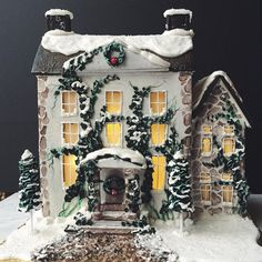 Gingerbread house, so adorable