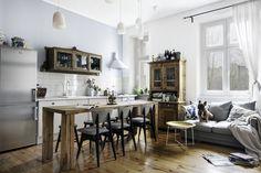 10 pomysłów na oddzielenie kuchni od salonu - Wnętrza - Aranżacja i wystrój wnętrz - Dom z pomysłem
