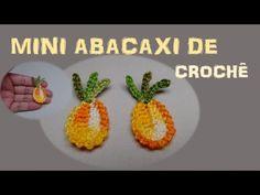 Passo a Passo Frutinhas de Crochê Melancia por JNY Crochê - YouTube Crochet Cake, Crochet Fruit, Pineapple Crochet, Form Crochet, Crochet Flowers, Knitting Patterns, Crochet Patterns, Crochet Borders, Crochet Videos