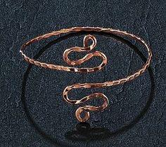 swirly arm band