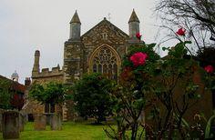 Old church of Rye - England