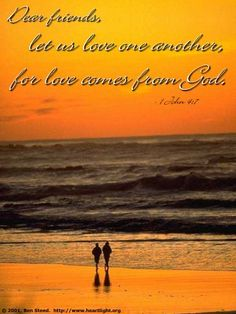 Holy God, I want to show that you are my Father by loving others more perfectly. Please bless me as I seek to follow Jesus' example in treating others with love. In the name of the Lord Jesus I pray. Amen.