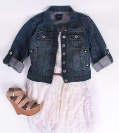 Deb Shops #lace #dress