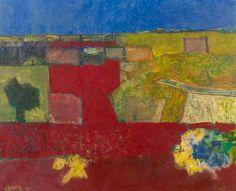 Wim  Oepts | 1904-1988 - Zuid-Frans landschap in Languedoc.