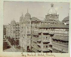 Taj Mahal Hotel in Bombay (Mumbai) c1909
