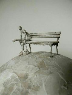 Sculpture by Antoine Josse Art Sculpture, Metal Sculptures, Abstract Sculpture, Bronze Sculpture, Creative Pictures, Wire Art, Land Art, Art Object, Art Plastique