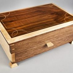 Elegant Jewelry Box by Erik Curtis