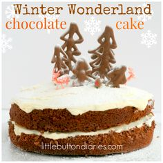 winter wonderland chocolate cake recipe