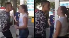 Muslim man attacks girl for wearing sleeveless shirt and jeans in Netherlands - Video