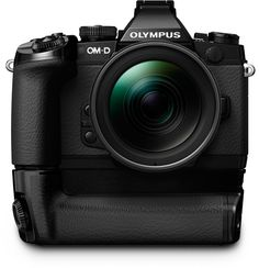 Olympus E M1 Fstoppers with adapter battery Olympus Announces New Flagship Professional DSLR: OM D E M1