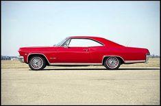 1965 Impala - tops in fastback design,
