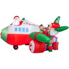 Northpole Airlines Snoopy Amp Woodstock Airblown Inflatable