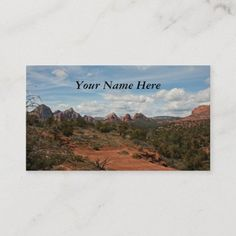 American Southwest Landscape Business Card Photographer Business Cards, Photography Business, Nature Photography, Travel Photography, Western Landscape, Sedona Arizona, Business Card Design, Graphic Design, American