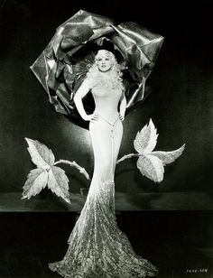 "Mae West "" why don't ya come up & see me sometime""...all she needs is her WC Fields."
