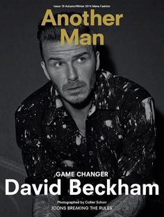 david beckham magazine - Cerca con Google