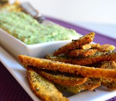 Gluten Free Za'atar Bagel Chips with White Bean Dip from May I Have That Recipe - Great for a Super Bowl party, or just a late-night nosh!