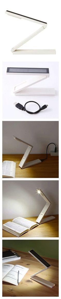 MUJI太阳能充电LED移动灯,可维持4小时的点灯时间。