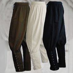 448647015cc9 Men s Ankle Banded Pants Medieval Viking Navigator Trousers Renaissance  Pants