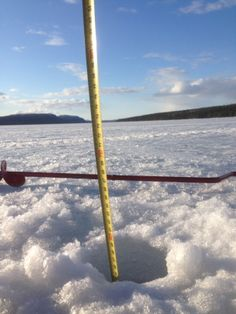 > 60 cm ice on river Laisan 5th May 2014