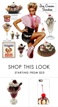 """Nothing better than an ice cream sundae "" by kotnourka ❤ liked on Polyvore featuring interior, interiors, interior design, home, home decor, interior decorating, Fountain, Casetify, Monsoon and icecreamtreats"