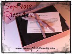 Pammy Blogs Beauty: Sept 2012 Glossybox Box Opening