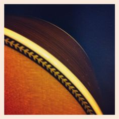 Martin guitar herringbone