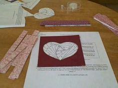 #video tutorial on #IrisFolding - Heart project  visit me at My Personal blog: http://stampingwithbibiana.blogspot.com/