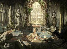 campaign environment voiceofnature: Fantasy lanscapes by PeneSchool Fantasy City, Fantasy Castle, Fantasy Places, Fantasy Rpg, Medieval Fantasy, Fantasy World, High Fantasy, Fantasy Art Landscapes, Fantasy Landscape