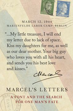 Quote From Marcel Heuz Excerpted From Letter Mailed August