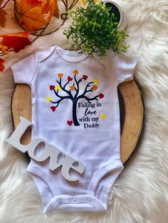 af1570446 Going Home Outfit, Falling In Love With Him, Fall Baby, Baby Onesie, Onesies,  Our Baby, Daddy, Baby Overalls, Baby Bunting