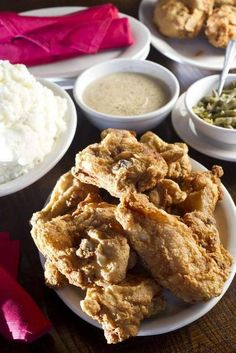 Stroud's famous pan-fried chicken and sides.